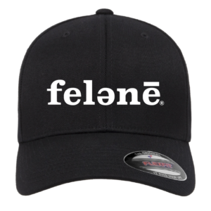 felənē® Flexfit - Adult Wooly 6-Panel Cap With embroidered felənē® logo