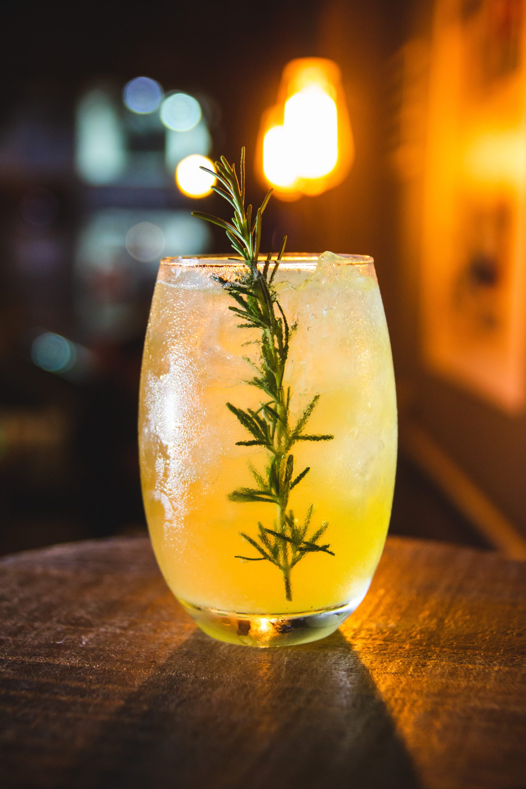 Rosemary's Baby Lemon Cocktail